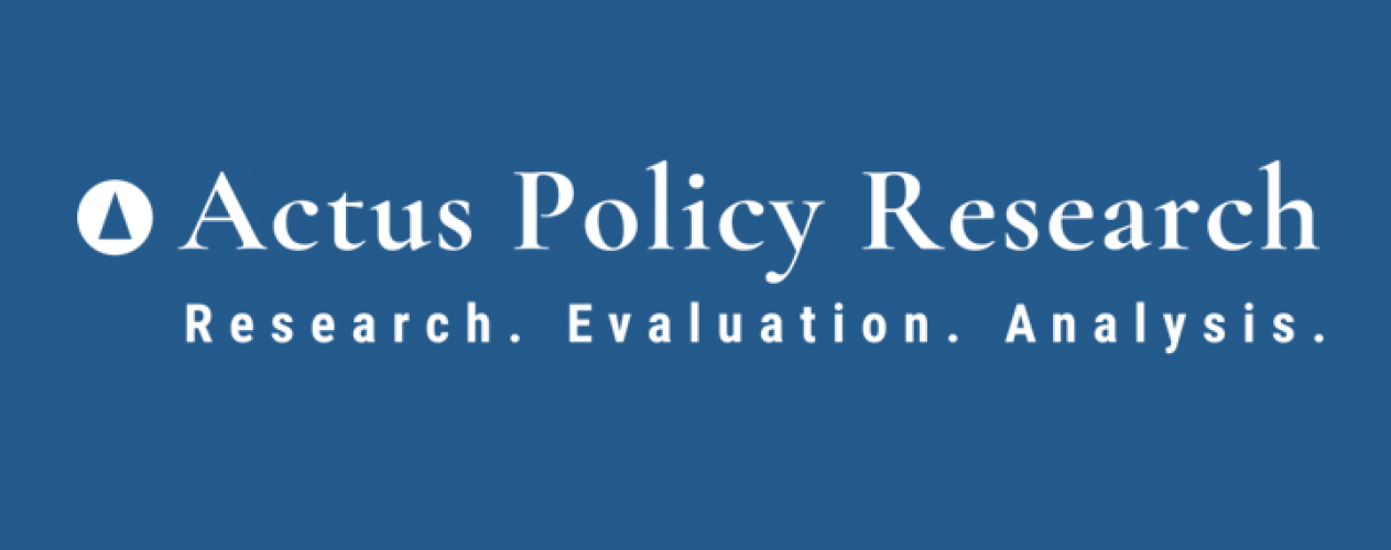 Actus Policy Research Logo