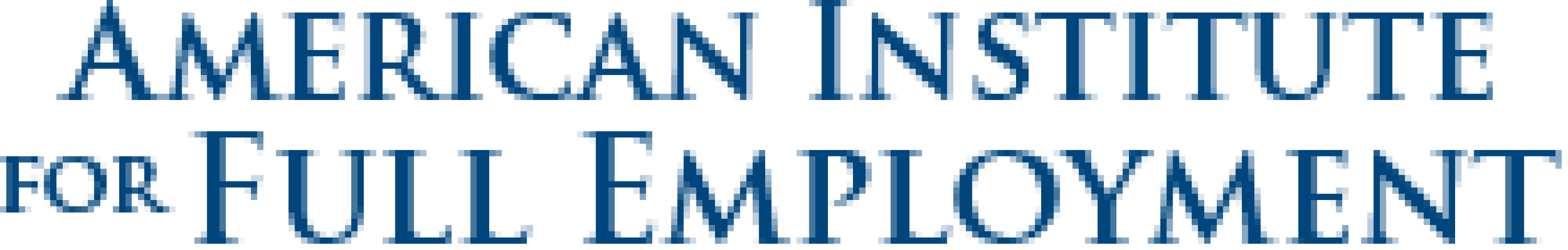 American Institute for Full Employment Logo